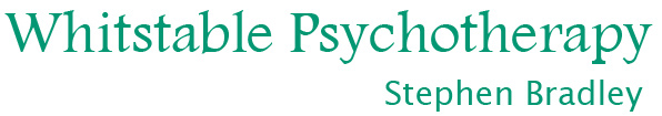 Small logo for Whitstable Psychotherapy, Stephen Bradley, Kent